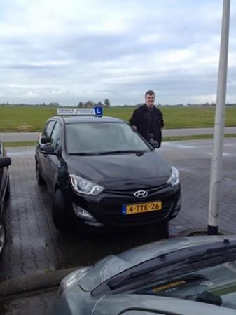 Bart Raap geslaagd op 10-02-2016