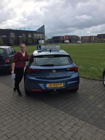 Irene de Vries geslaagd op 24 april 2017