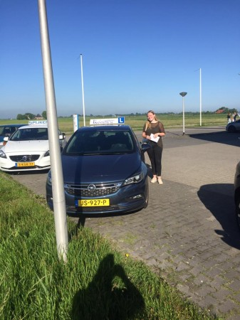 Nynke de Jong geslaagd op 26 mei 2017