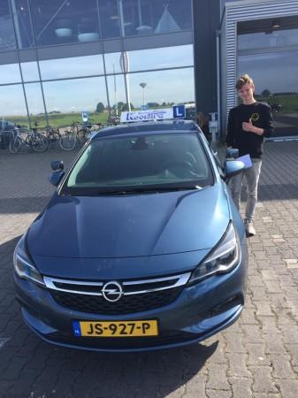 Sjoerd- Bauke Visser geslaagd op 7 augustus 2017
