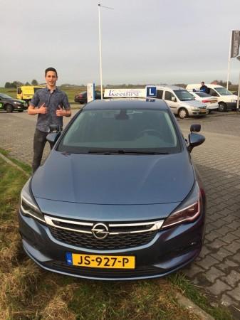 Ruurd de Vries geslaagd op 17 oktober 2017