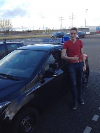 Klaas Kooistra geslaagd op 03-03-2015