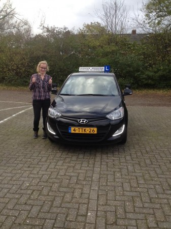 Mirjam Meeuwsen geslaagd op 10-11-2015
